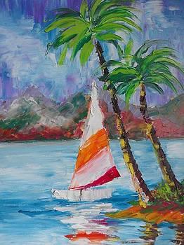 ''Sailing boat'' by Asia Dzhibirova