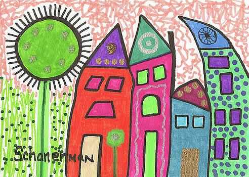 Silly Town by Susan Schanerman