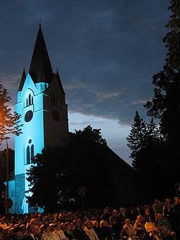 Silute Lutheran Evangelic Church Lithuania by Ausra Huntington nee Paulauskaite