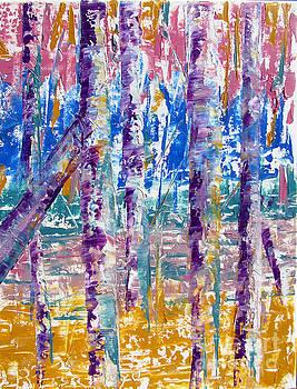 Silver Birch Parade by Lisa Boyd