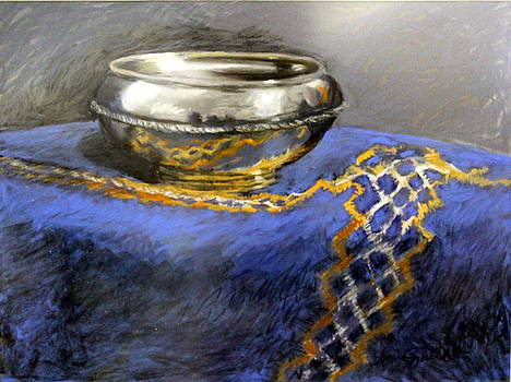 Silver Bowl by Lenore Gaudet