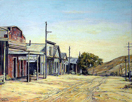 Silver City Nevada by Evelyne Boynton Grierson