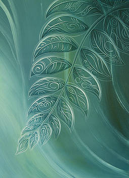 Silver Fern by Reina Cottier by Reina Cottier