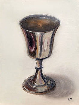 Silver Goblet by Linda Merchant