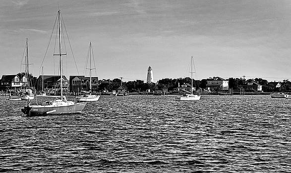 Silver Lake and Ocracoke Light by Brendan Reals