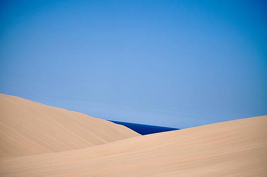 Silver Lake Sand Dunes and Lake Michigan by Samantha Boehnke