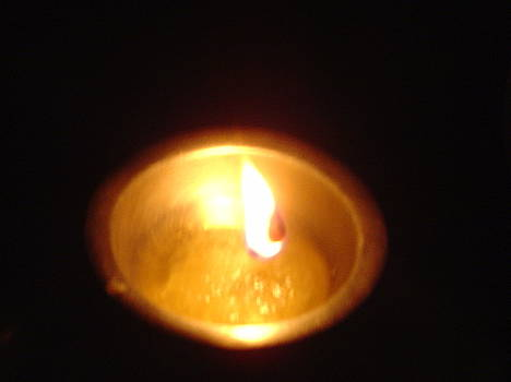 Usha Shantharam - Silver Lamp