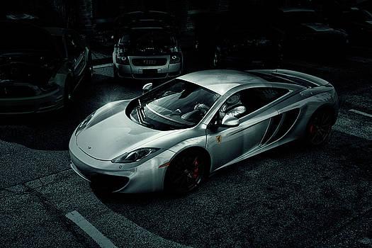 Silver McLaren by Joel Witmeyer