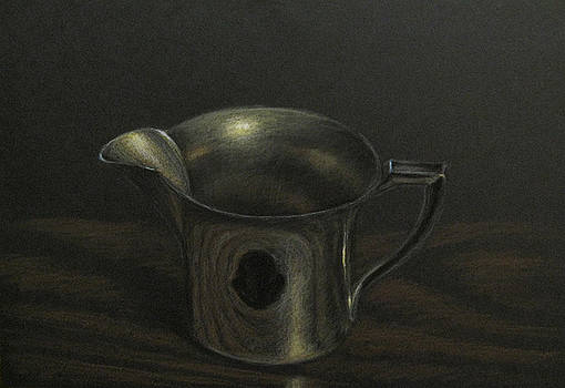 Silver on Wood by Amy Tennant