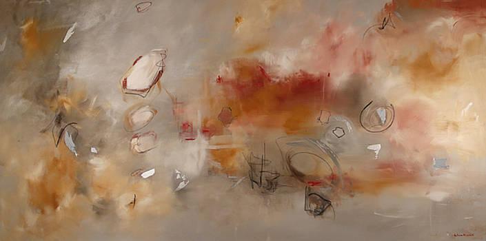Silver Peach by Katrina Nixon