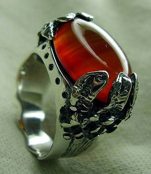 Silver Ring-agat by Jonatan Kor