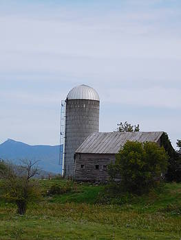 Silver Silo by Catherine Gagne