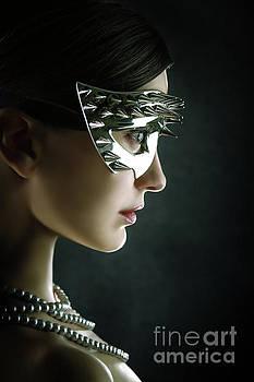 Silver Spike Beauty Mask by Dimitar Hristov