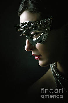Dimitar Hristov - Silver Spike Eye Mask