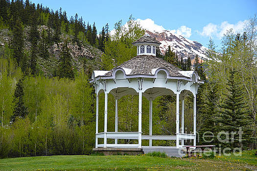 Silverton Colorado Gazebo by Catherine Sherman
