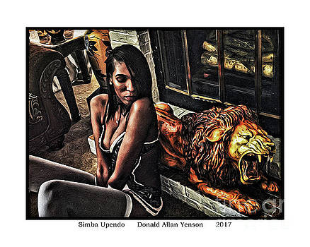 Simba Upendo by Donald Yenson