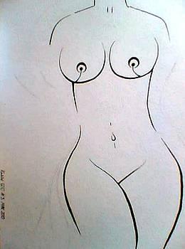 Simple lady by Maina  Kabiru