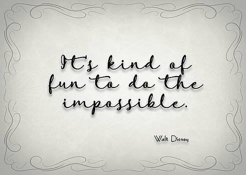 Ricky Barnard - Simple Quote Series Disney