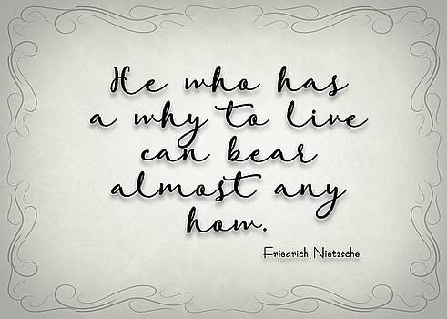 Ricky Barnard - Simple Quote Series Nietzsche