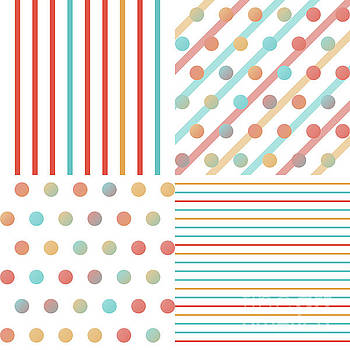 Simple saturated pattern by Gaspar Avila