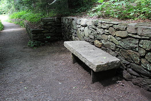 Allen Nice-Webb - Simple Stone Bench