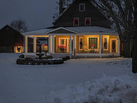 Simply Elegant Porch by Judy Johnson