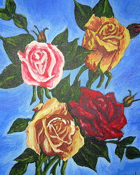 Simply Roses by Vickie Wooten
