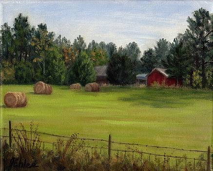 Simpsons Hayfield by Jean Ehler