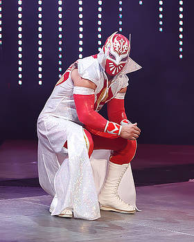 Sin Cara by Wrestling Photos