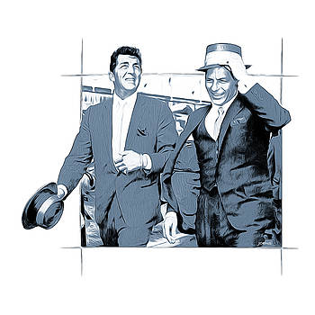 Sinatra and Martin by Greg Joens