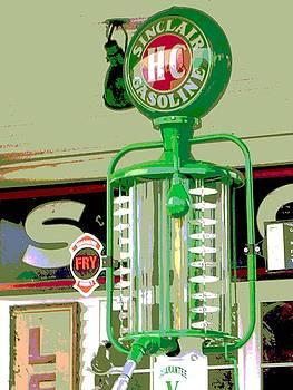 Sinclair Gas Pump by Audrey Venute