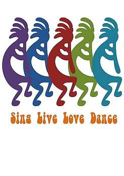 Tracey Harrington-Simpson - Sing Live Love Dance Tribal Kokopelli