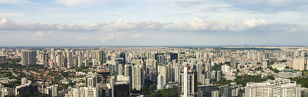 Singapore in Panaroma by Andrew Kow