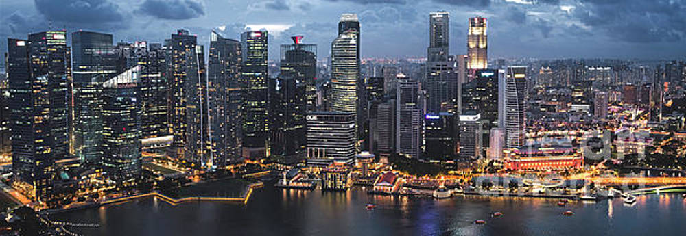 Singapore by Jim Chamberlain