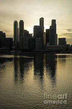 Singapore Reflections by John Janicki