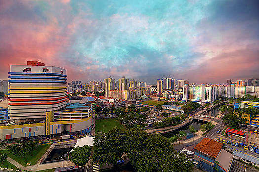 Singapore Rochor Commercial and Residential Mixed Area by David Gn