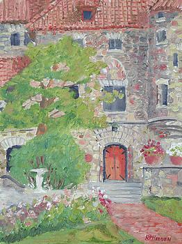 Singer Castle Grand Room Door by Robert P Hedden