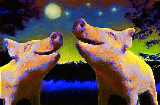 Singing to the Moon by Karen Derrico