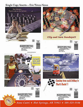 Anne Cameron Cutri - Single copy Inserts for Erie Times News