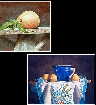 Single Peach by Frances Ashley