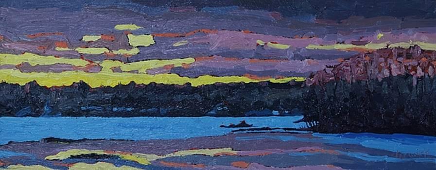 Singleton Spring Sunset by Phil Chadwick