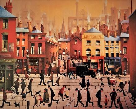 Liverpool Street Scene by Ray Gilronan