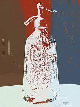 Joost Hogervorst - Siphon Biere L Flad blue bottle