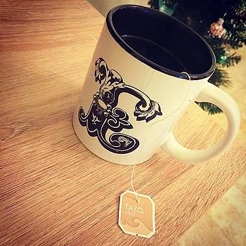 Sippin' Tea Out Of My Gorgeous Mug by Elizabeth Dominguez