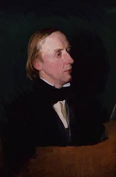 Watts George Frederick - Sir Charles Hall N E Carl Halle