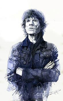 Sir Mick Jagger by Yuriy Shevchuk