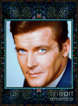 Sir Roger Moore RIP by Wbk