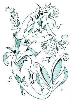 Arte Venezia - Sirena - Mermaid Fantasy Book Illustration