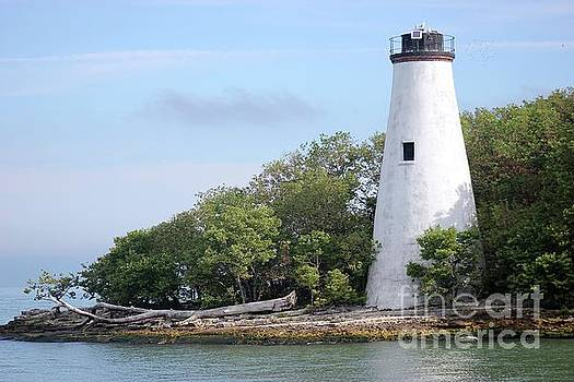 Sister Island Lighthouse by The Art of Alice Terrill