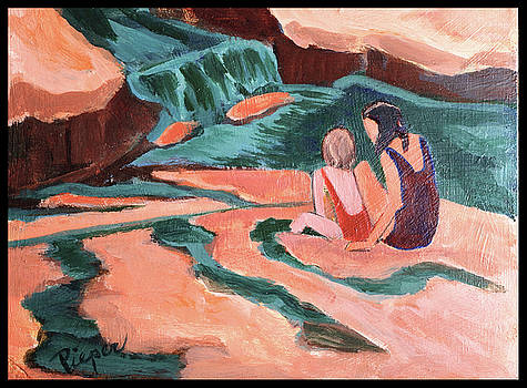 Betty Pieper - Sisters at Slide Rock